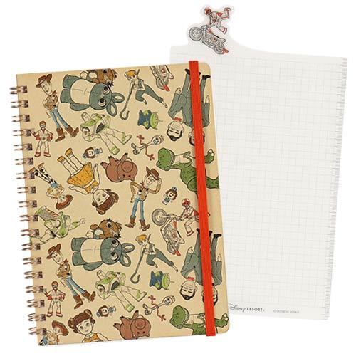 TDR - Toy Story 4 Collection x Notebook