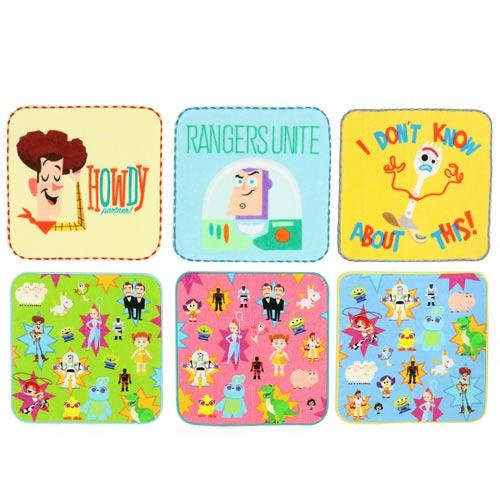 TDR - Toy Story 4 Collection x 3 Mini Towels Set