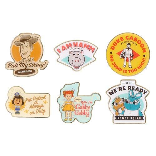 TDR - Toy Story 4 Collection x Pins Set