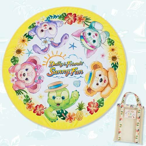 TDR - Duffy & Friends' Sunny Fun 2021 - Bath Towel & Hand Bag Set