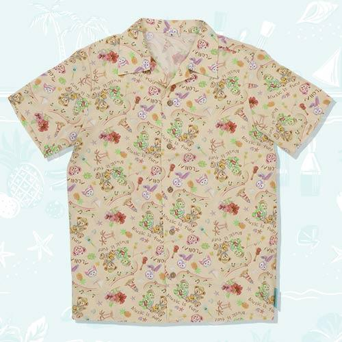 TDR - Duffy & Friends' Sunny Fun 2021 - Unisex Aloha Shirt for Adults