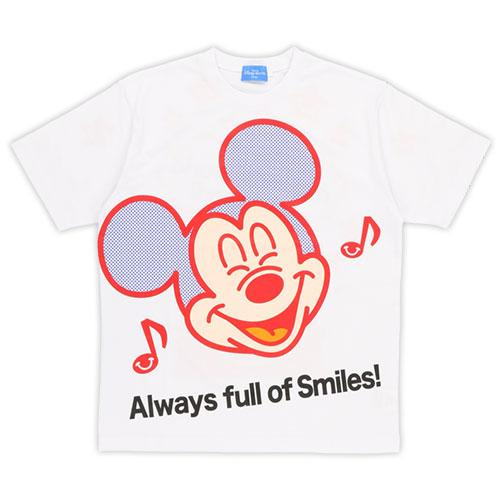 TDR - Always Full of Smiles Unisex T Shirt x Mickey Mouse