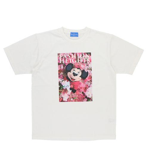 TDR - Minnie's Style Studio x Mika Ninagawa Collection - Minnie Mouse T Shirt for Adults (Pink Color Flowers)