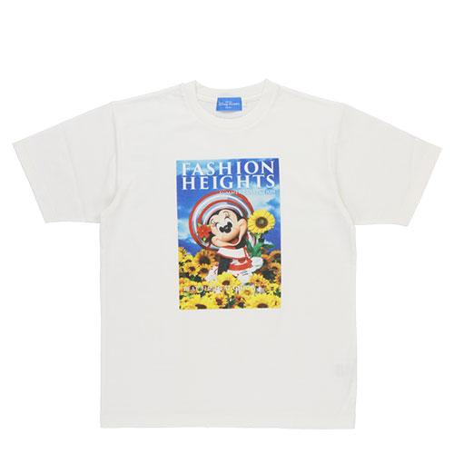 TDR - Minnie's Style Studio x Mika Ninagawa Collection - Minnie Mouse T Shirt for Adults (Yellow Color Flowers)