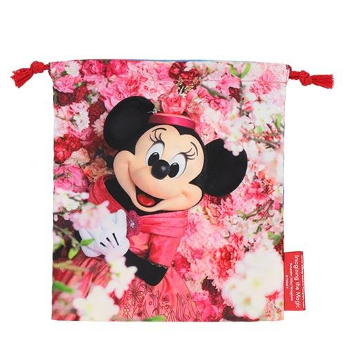 TDR - Minnie's Style Studio x Mika Ninagawa Collection - Minnie Mouse 2 Sided Drawstring Bag