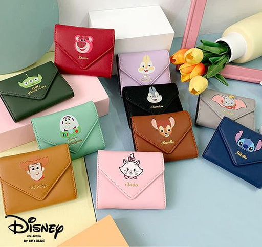 Taiwan Disney Collaboration - SB Happy Character Card Holder (12 colors)
