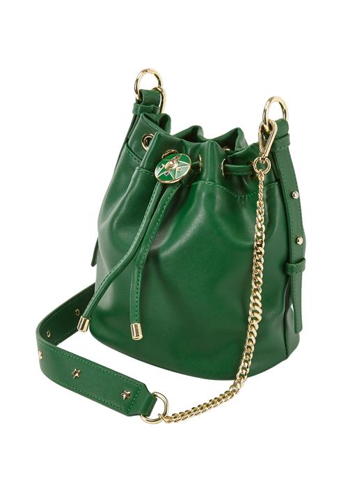 Taiwan Exclusive - Sailor Moon Crystal Star Brooch Drawstring Chain Bag (Sailor Jupiter/Green)