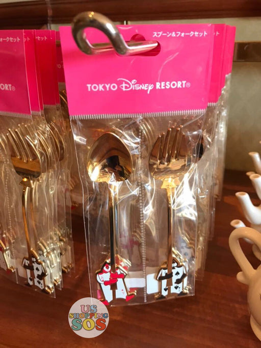 TDR - Alice in the Wonderland - Card soldiers Spoon & Fork Set