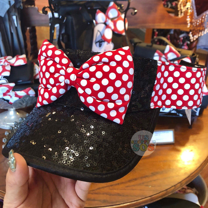 DLR - Minnie Mouse Sequin Visor