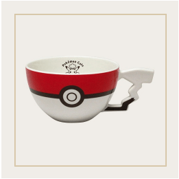 Japan Exclusive - Pokémon Cafe Poké Ball Mug