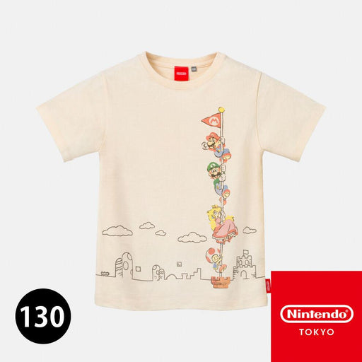 Japan Nintendo - Super Mario Family Life - T-Shirt - Kid 130 Size