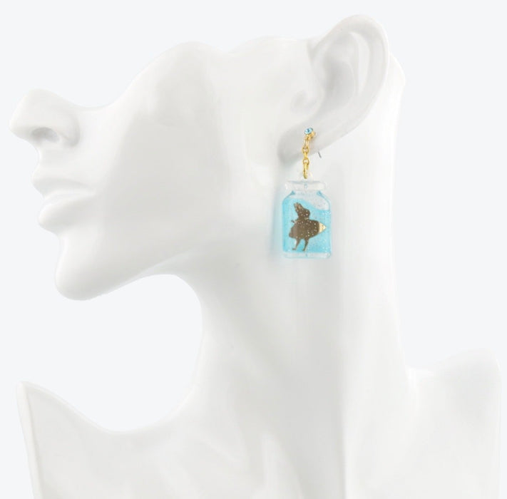 TDR - Alice in the Wonderland Collection - Cheshire Cat, Alice & Flowers Earrings