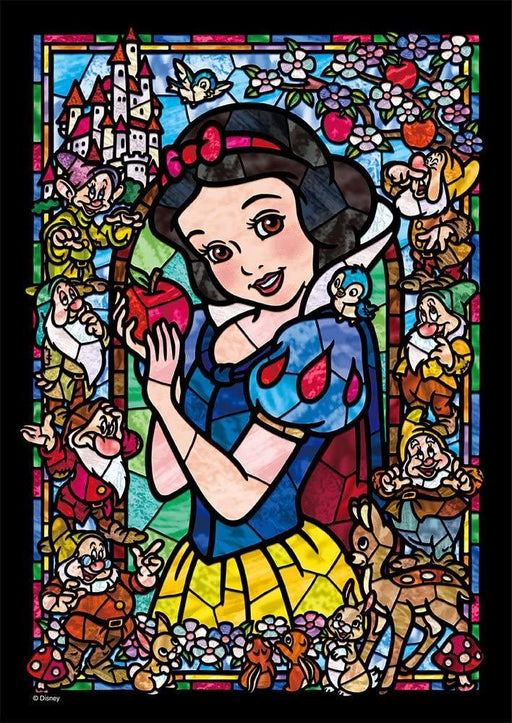 Japan Tenyo - Disney Puzzle - 266 Pieces Tight Series Stained Art - Stained Glass x Snow White