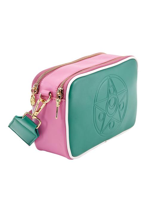 Taiwan Exclusive - Sailor Moon Crystal Star Brooch Embossing Colorful Shoulder Bag (Sailor Jupiter/Green)