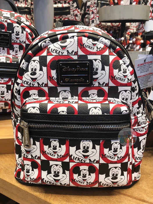 dff4df3cbaa DLR - Mickey Mouse Club - Loungefly Backpack — USShoppingSOS