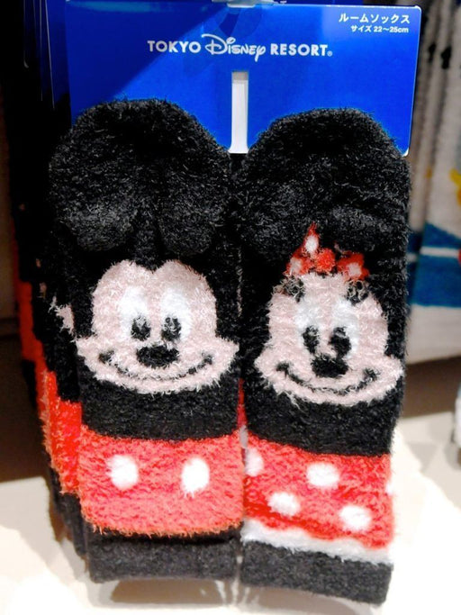 TDR - Fluffy Socks Set x Mickey & Minnie Mouse
