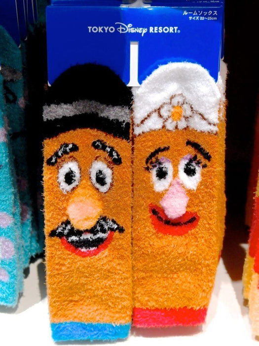 TDR - Fluffy Socks Set x Mr. & Mrs. Potato