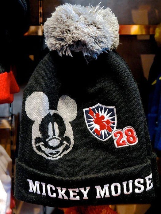 TDR - Beanie x Mickey Mouse (With Grey Color Pom Pom)