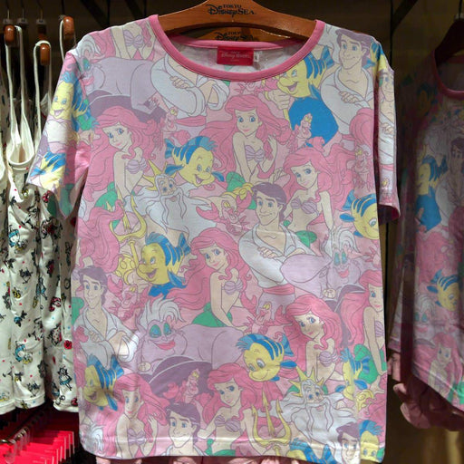 TDR -  All-Over-Print Pajama Set - The Little Mermaid