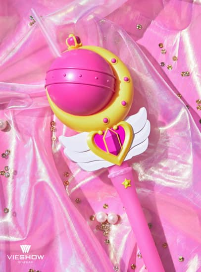 Taiwan Exclusive  - Sailor Moon Moonlight Princess Scepter Drink Cup