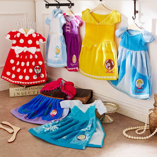 Japan BM - Disney Princess Dress Shaped x Hand Towel -
