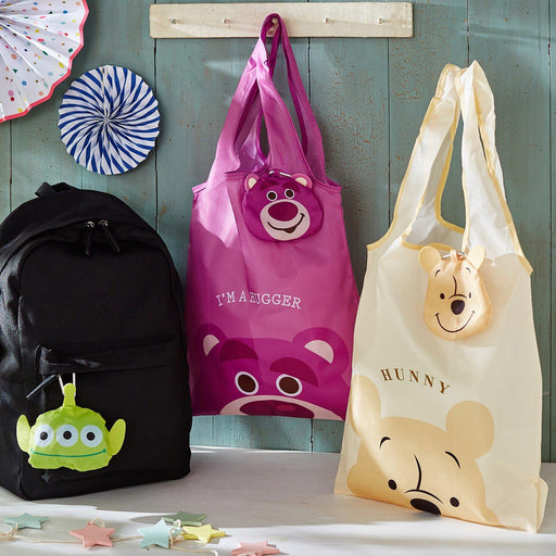 Japan Exclusive - Foldable Eco/Shopping Bag with Carabiner x
