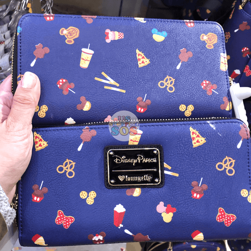 DLR - Disney Parks Food - Loungefly Long Wallet
