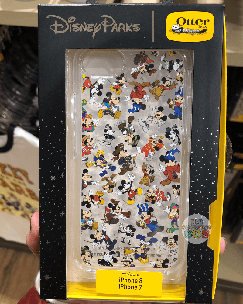 DLR - Mickey Mouse Through the Years - Otter Box Case - iPhone 7/8