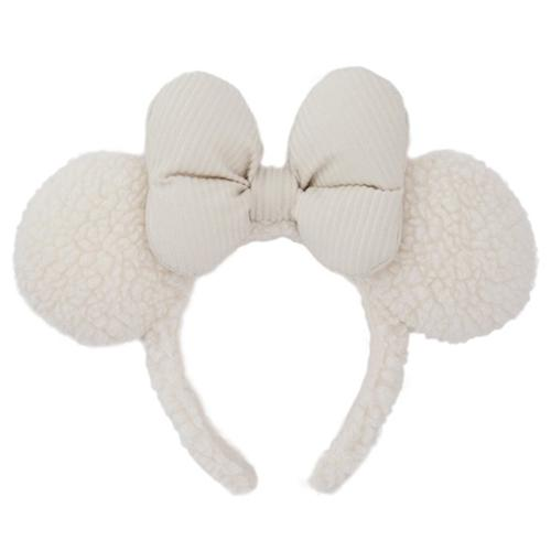 TDR - Fluffy Snow White - Minnie Ear Headband