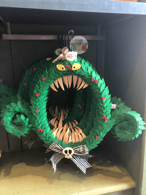 DLR - The Nightmare before Christmas Monster Wreath