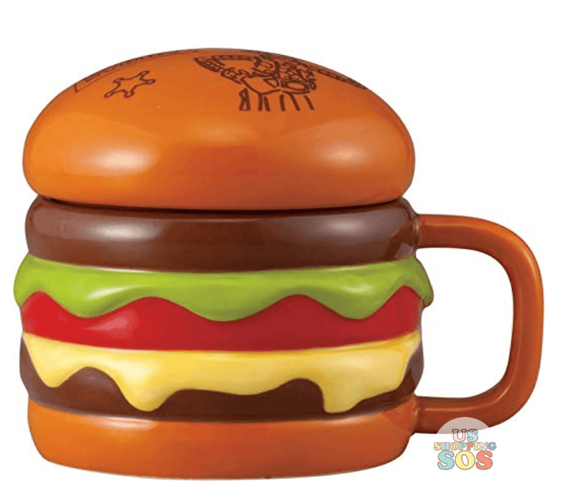 JP x RT-  Toy Story Mug x Hamburger Shape