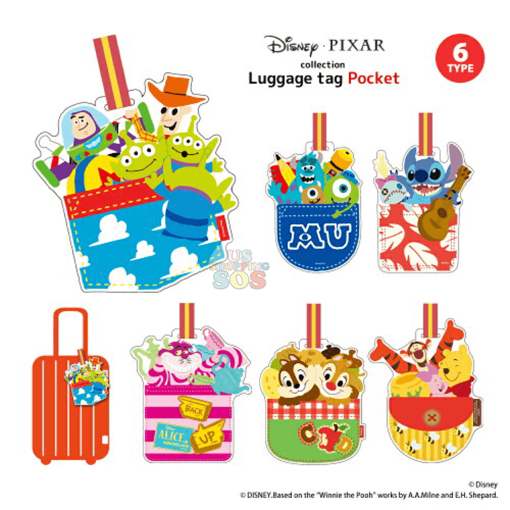 JP x Disney Luggage Tags Collection