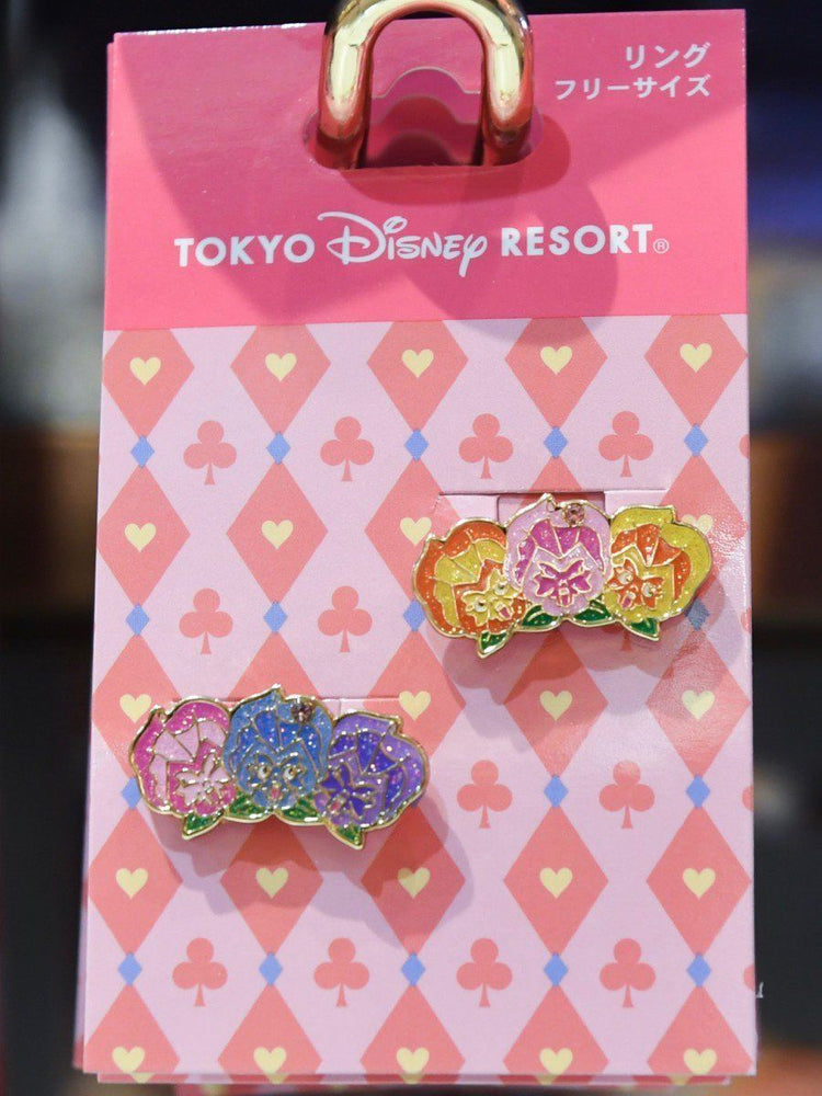 TDR - Alice in the Wonderland Collection - Flowers Rings Set
