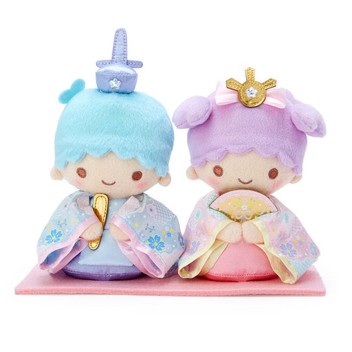 Japan Sanrio -  Girls' Day / Hinamatsuri Festival - Little Twin Stars Plush Toys Set