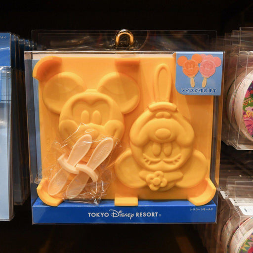 TDR - Mickey & Minnie Mouse Ice Popsicle Molds