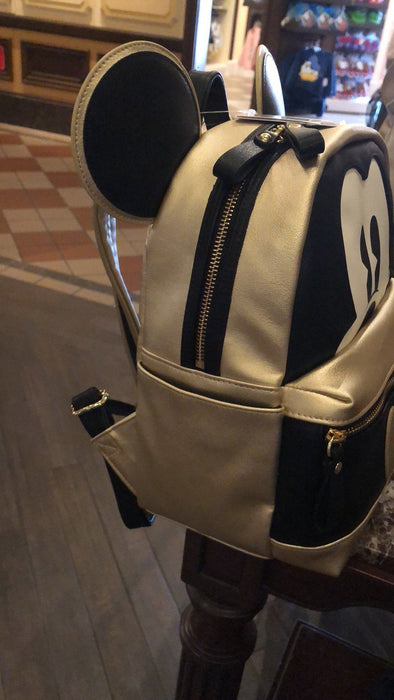 SHDL - Golden Mickey Mouse Ear Backpack