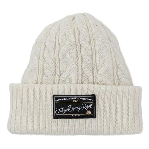 TDR - Fluffy Snow White - Reversible Beanie