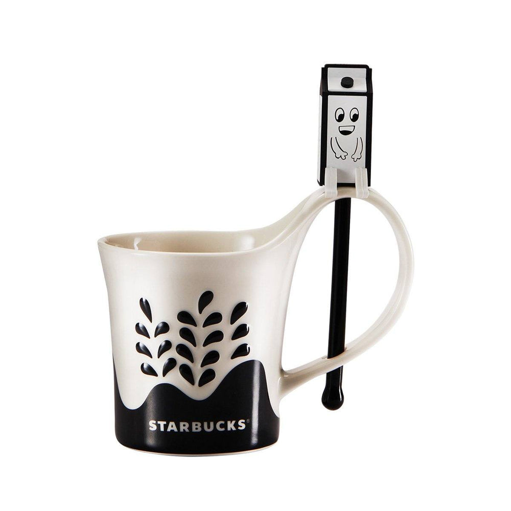 Starbucks China - Eco Bear with Me - Mug with Milk House Stir 296ml