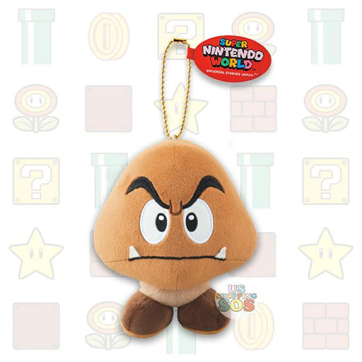 USJ - Super Nintendo World - Plush Keychain x Goomba