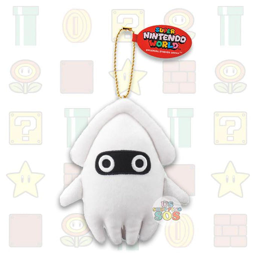 USJ - Super Nintendo World - Plush Keychain x Blooper
