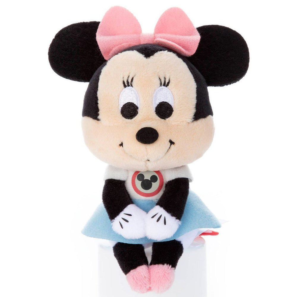 Japan Takara Tomy - Chokkorisan Plush x Mouseketeer Minnie