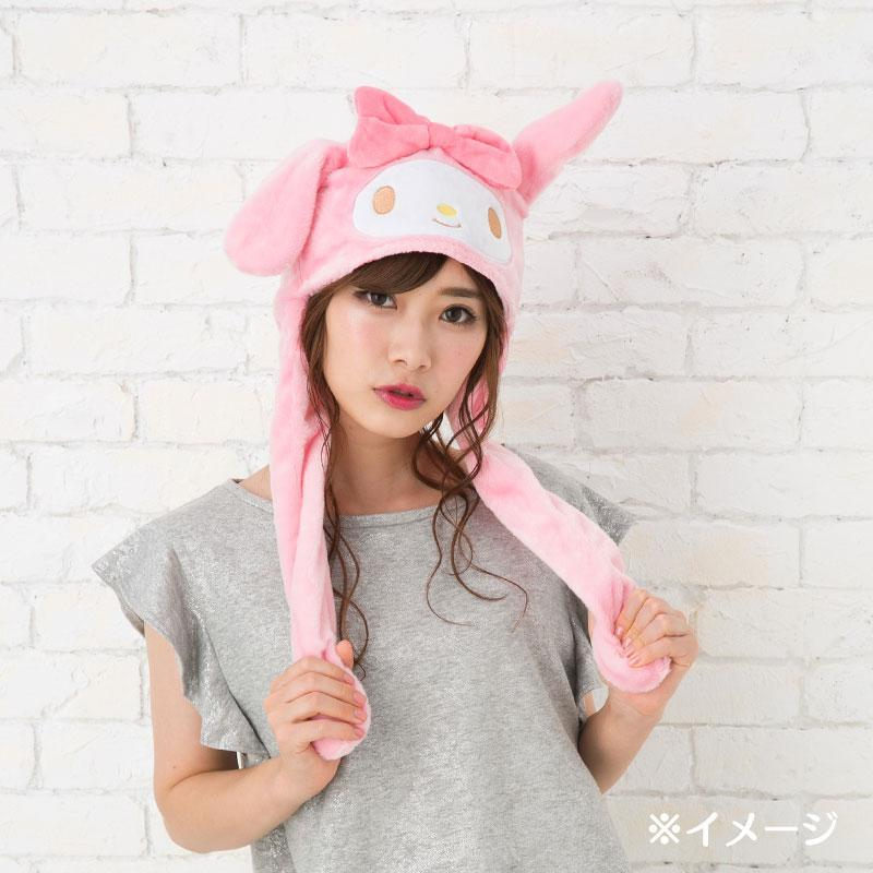 JP Sanrio - Hat with moving ears - My Melody