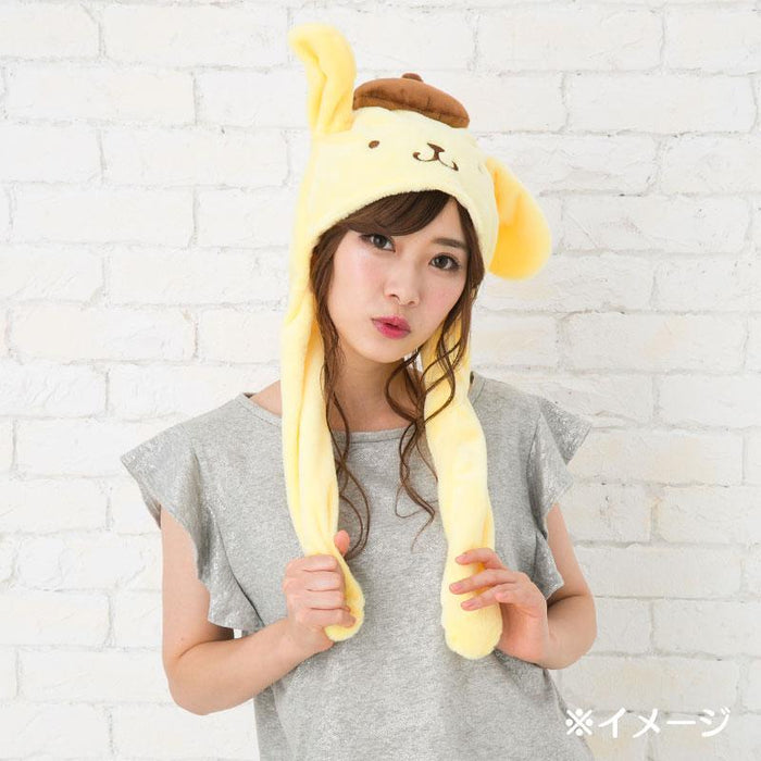 JP Sanrio - Hat with moving ears - Pompompurin
