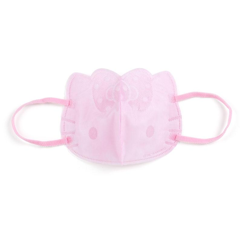 Japan Sanrio - Face-shaped non-woven mask x Hello Kitty (For Adults)