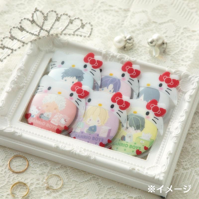 JP Sanrio - Button Badge Cover x Hello Kitty