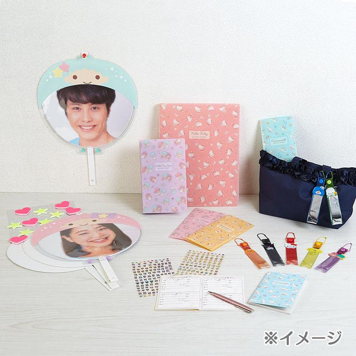 JP Sanrio - Enjoy Idol Collection -UCHIWA+COVER SET - Cinnamoroll