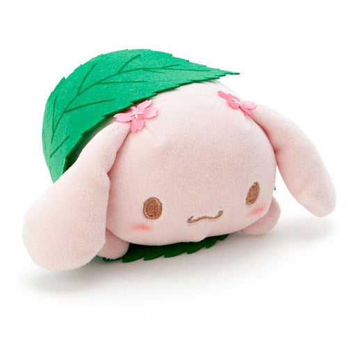Japan Sanrio - Sakura 2021 Collection - Sakura Mochi Shaped Mini Plush Toy x Cinnamoroll