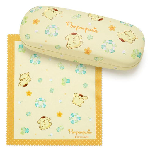 JP Sanrio - Happy Spring x Glasses Case - Pompompurin