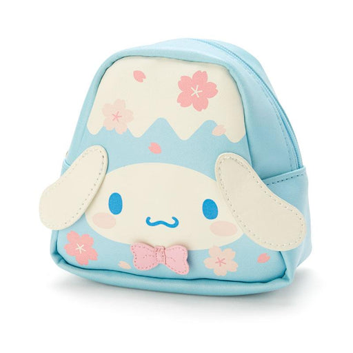 Japan Sanrio - Sakura 2021 Collection - Fuji Mountain Shaped Pouch x Cinnamoroll