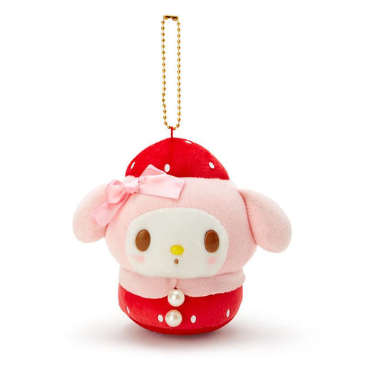 JP Sanrio - Strawberries Collection - Plush Keychain x My Melody